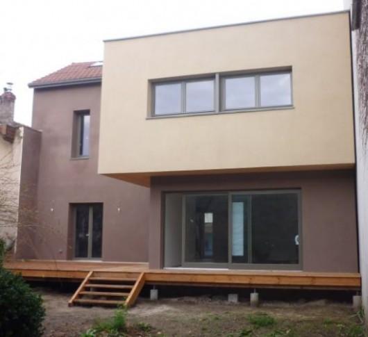 Extension maison : extension bois d'une maison de ville – Lyon