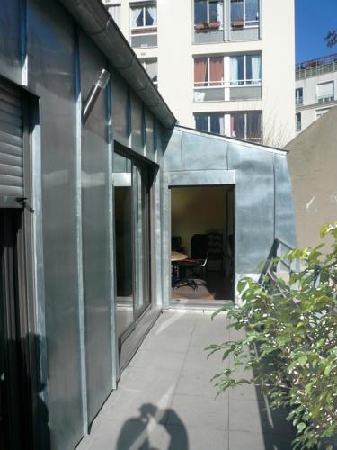 surevelation maison de ville loft paris extension d 39 une maison de ville paris. Black Bedroom Furniture Sets. Home Design Ideas