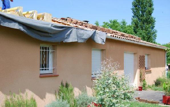 Surelevation maison surelevation ossature bois toulouse midi pyrenees a - Surelevation de toiture prix ...
