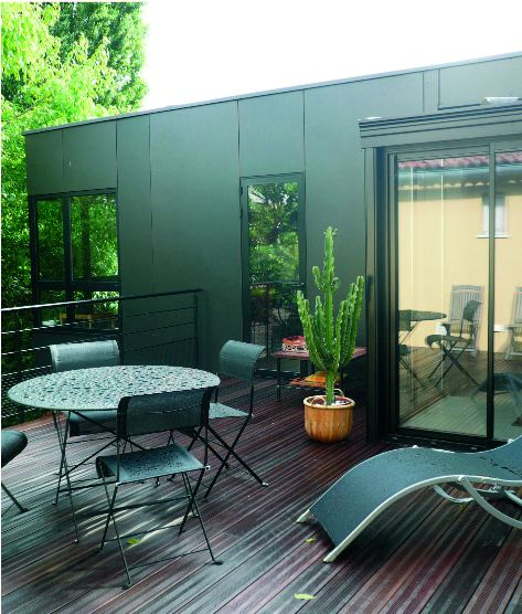 extension veranda maison avec extension en veranda extension bois agrandissement extension. Black Bedroom Furniture Sets. Home Design Ideas