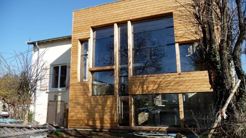 extension maison ancienne extension reovation BBC Agrandissement& Extension # Extension Bois Maison Ancienne