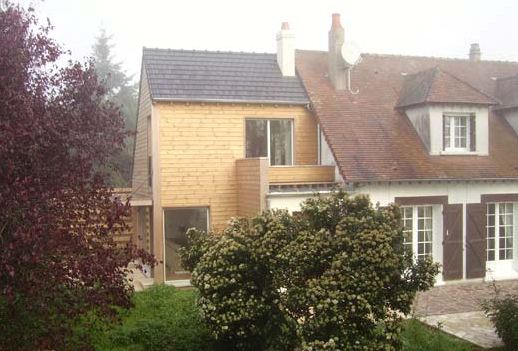 extension maison bois extension contemporaine bois Agrandissement& Extension # Extension Bois Maison Ancienne