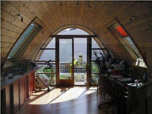 Surélévation d'une maison mitoyenne : surélévation bioclimatique