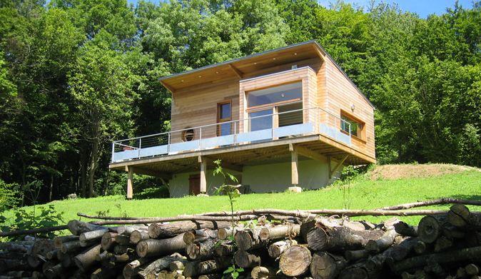 Extension en bois d'une maison ancienne